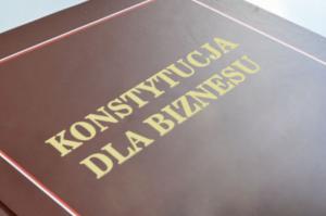 konstytucja dla biznesu